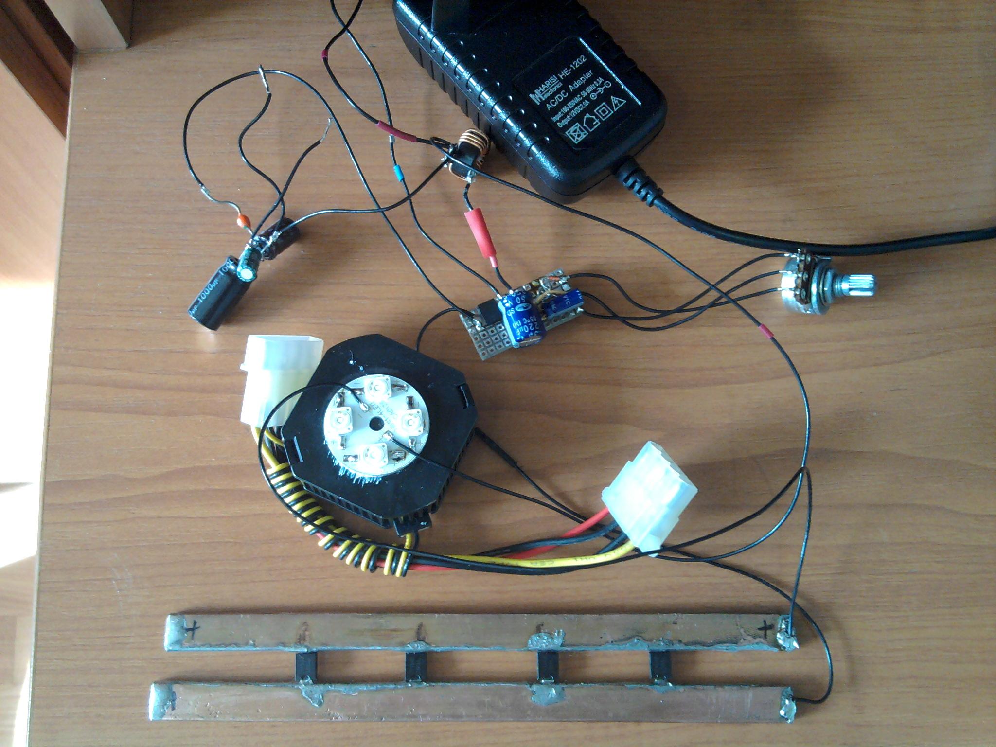 стабилизатор тока на 555 схема